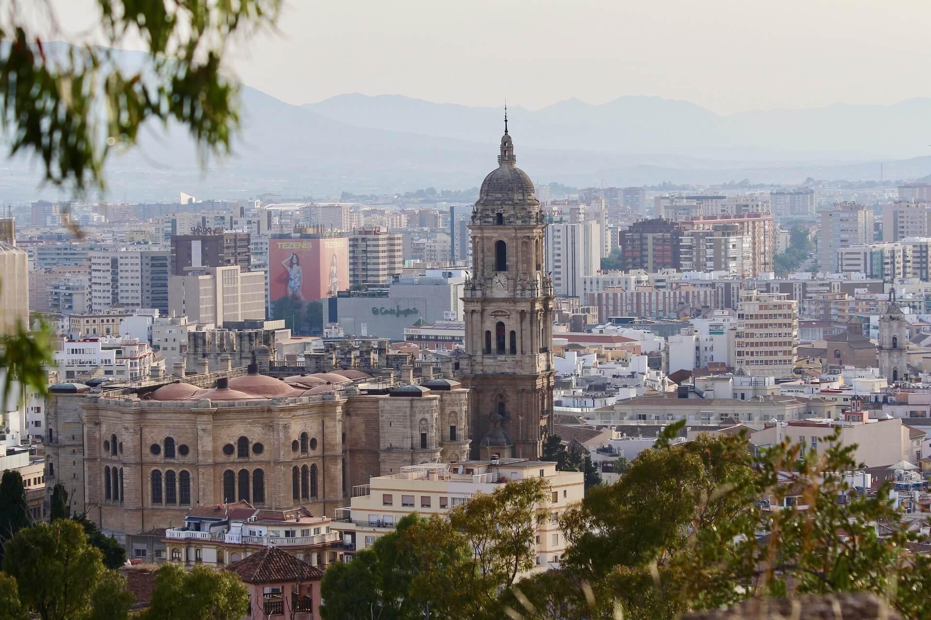 Malaga miasto Costa del Sol