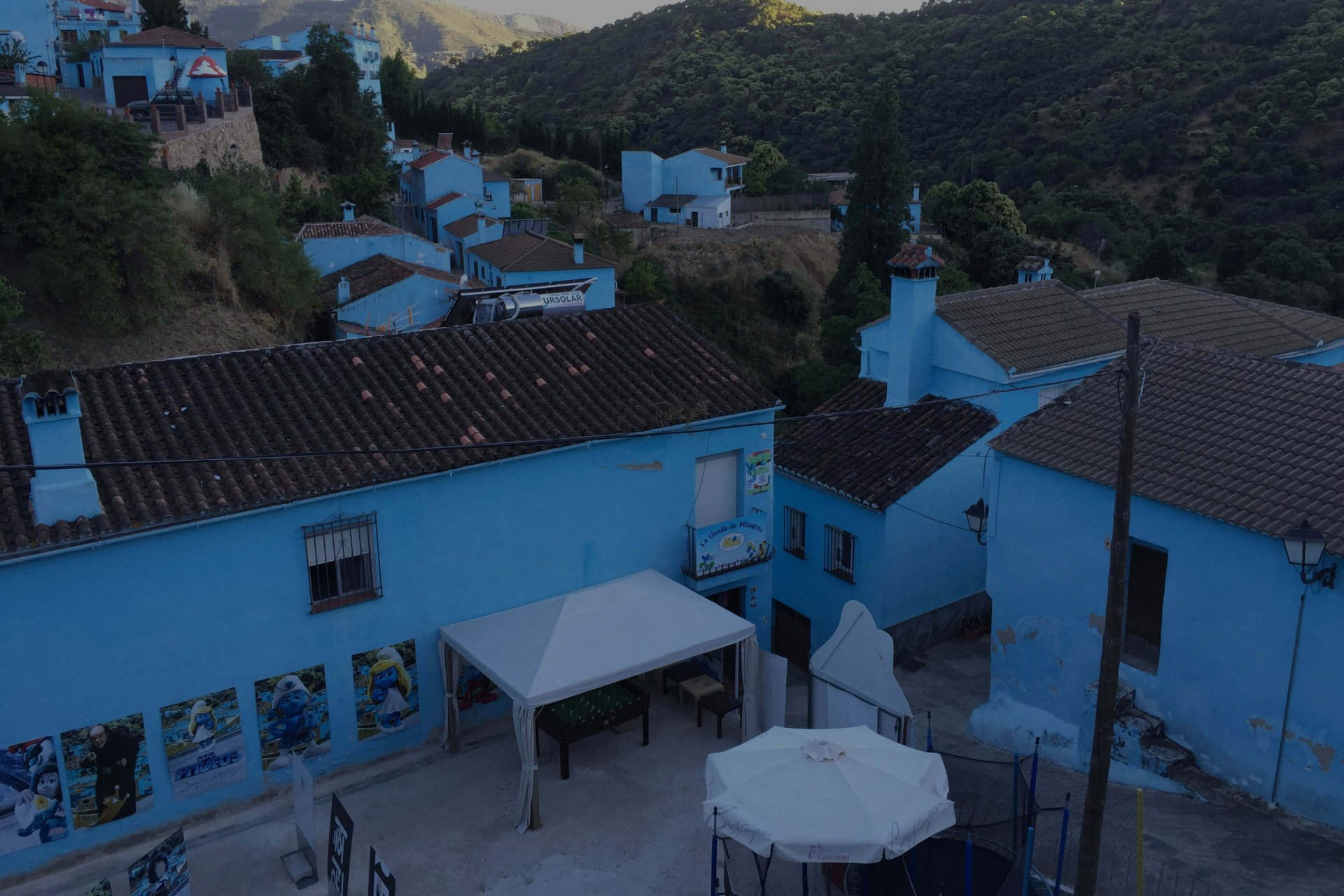 Juzcar-Andaluzja