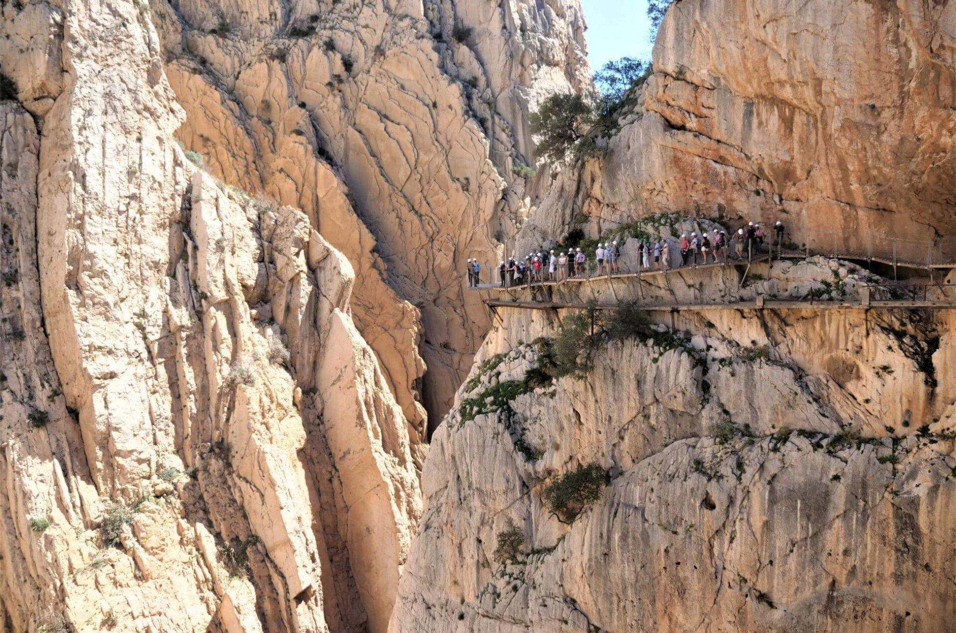 Caminito del Rey szlak Andaluzji
