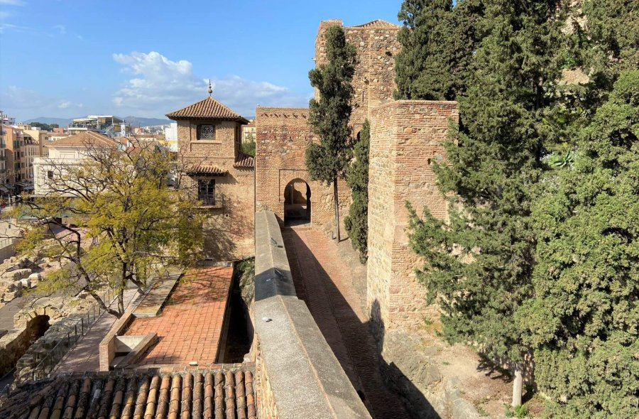 alcazaba w maladze