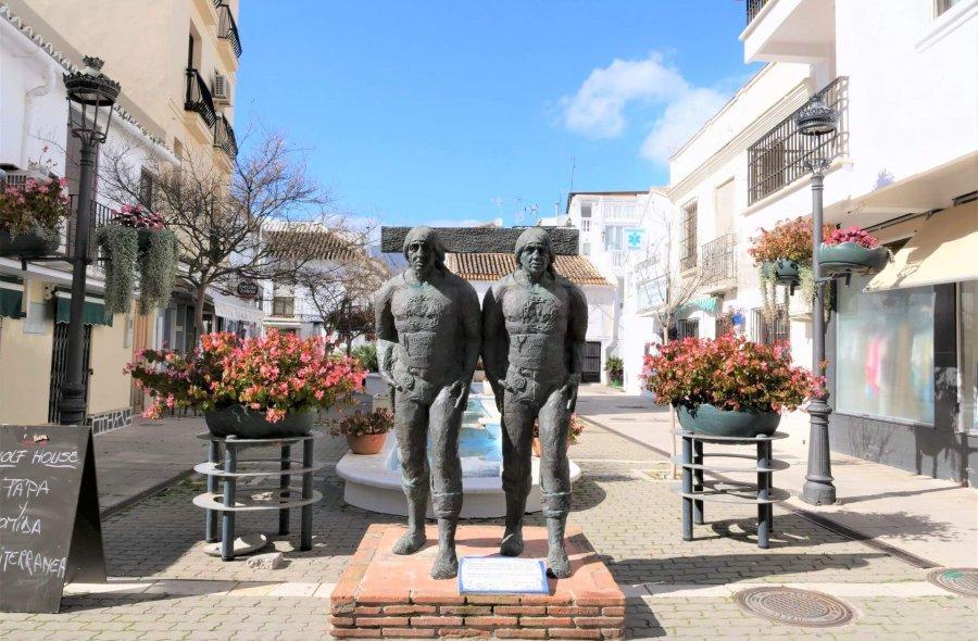 ruta esculturas Estepona zobaczyć
