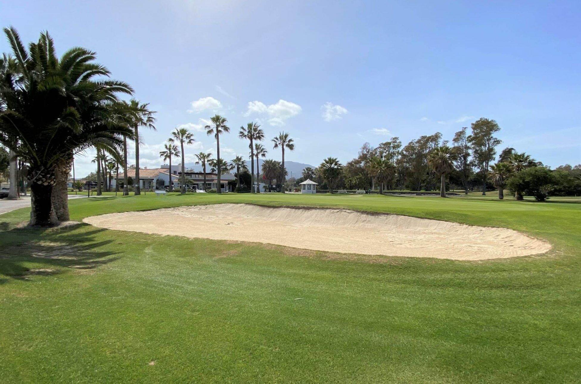 pola golfowe Andaluzja