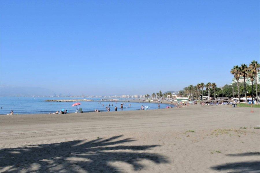 plaże w Maladze