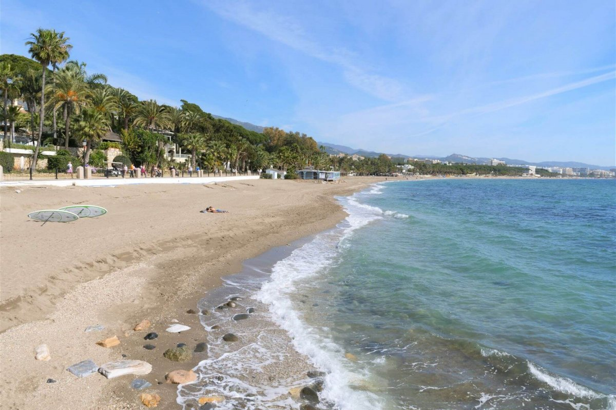plaże w Marbelli